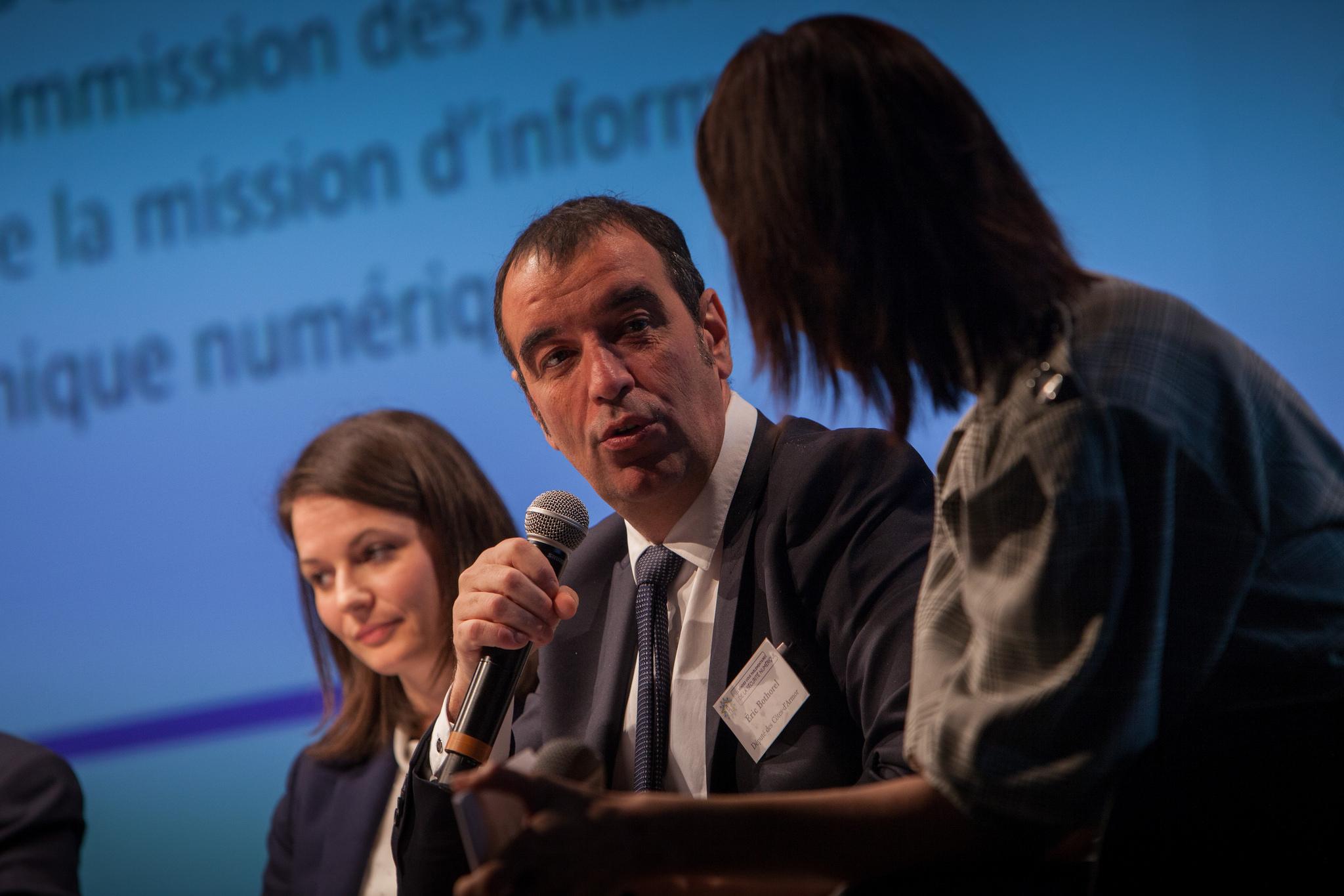 Éric Bothorel désigné co-président du groupe d'études « Économie numérique de la donnée, de la connaissance et de l'Intelligence artificielle »