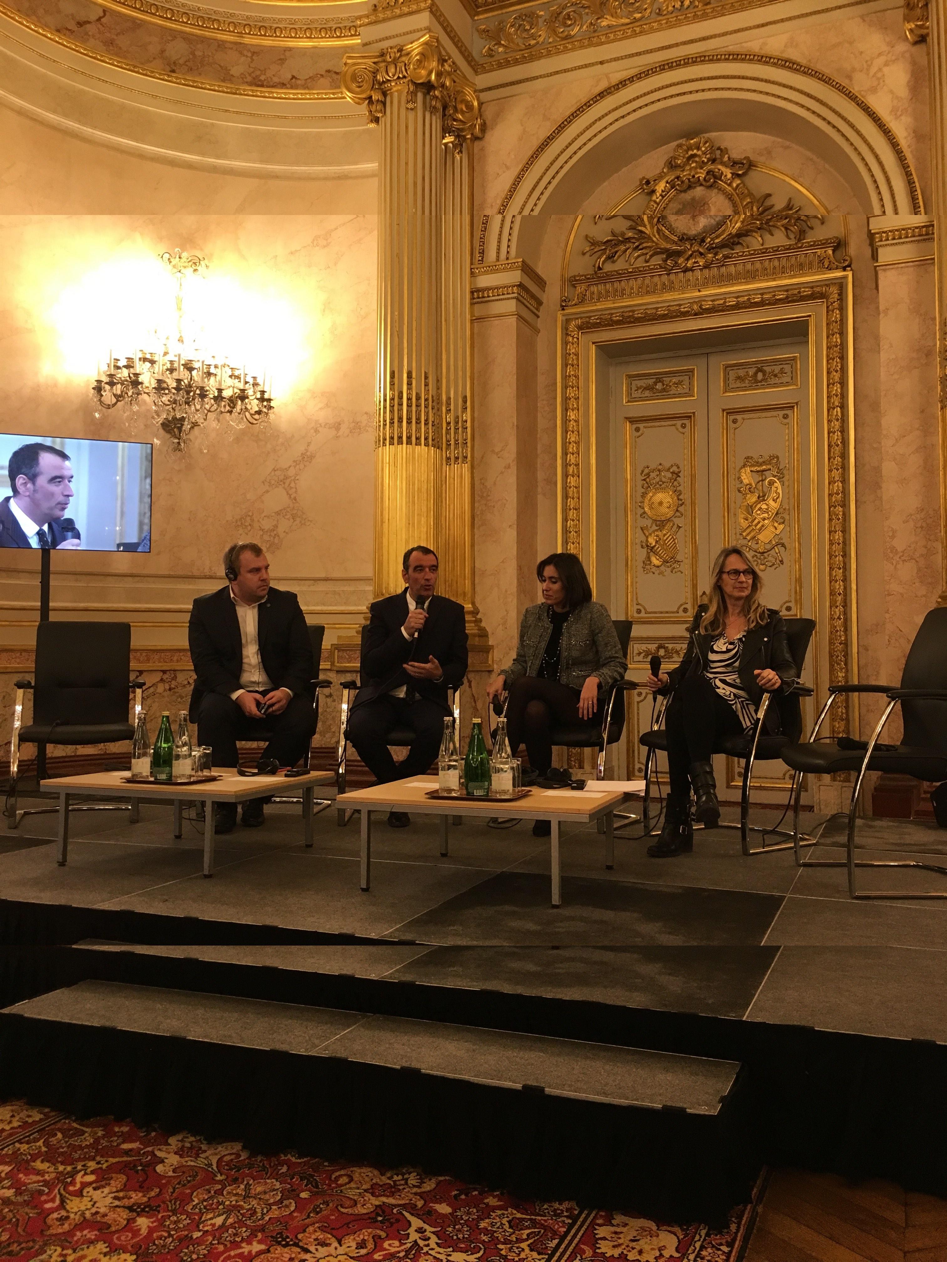 Intervention sur le marché unique du numérique au colloque «Quel modèle européen pour la révolution numérique ?»