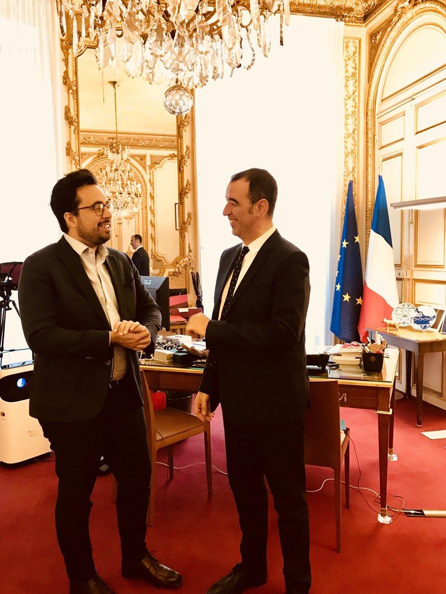 Rencontre avec Mounir Mahjoubi, Secrétaire d'État chargé du Numérique