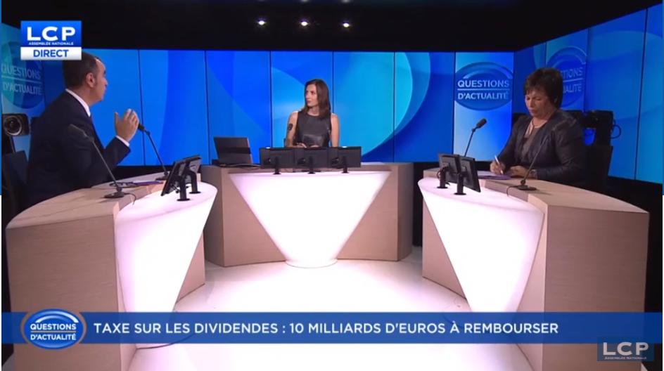 Débat LCP Questions d'actualité face à Marie-Christine Dalloz (LR)