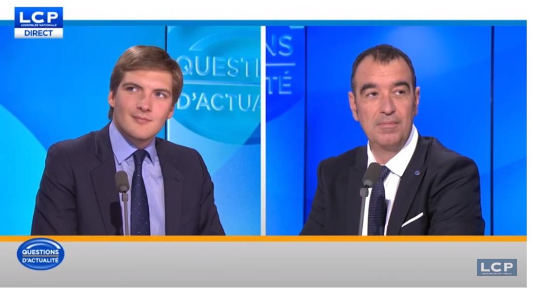 Débat LCP sur l'évasion fiscale et le nucléaire face à Robin Reda (LR)