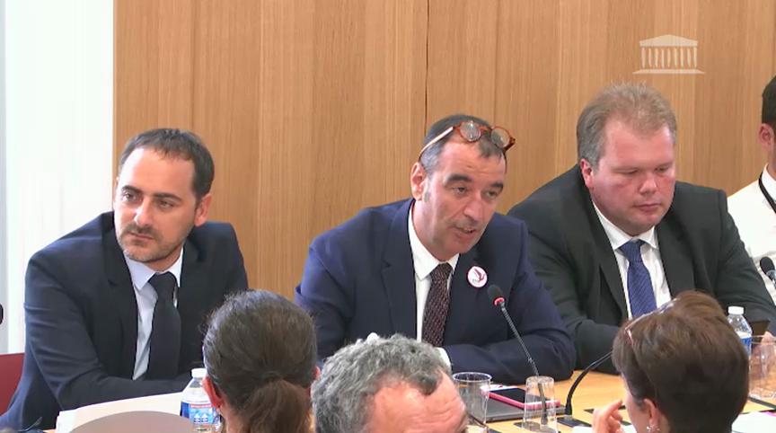 Question au ministre de l'Agriculture, Stéphane Travers