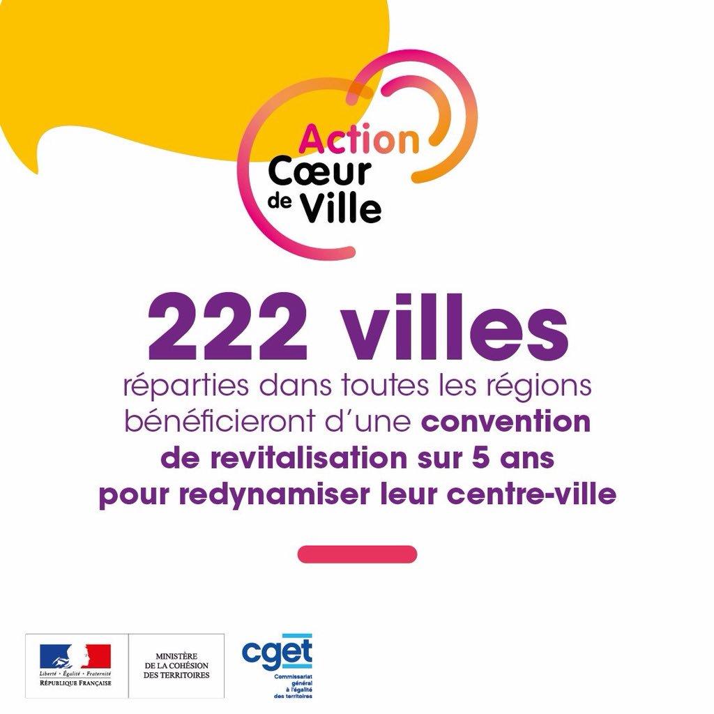 Lannion et Saint-Brieuc sélectionnées dans le programme Action Cœur de Ville
