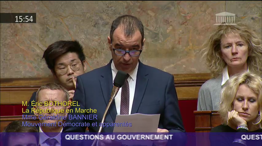 QUESTION AU GOUVERNEMENT SUR LA SITUATION DE SOPHIE PETRONIN