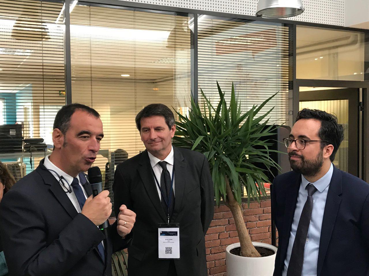 Mounir Mahjoubi à la rencontre de l'écosystème numérique trégorois