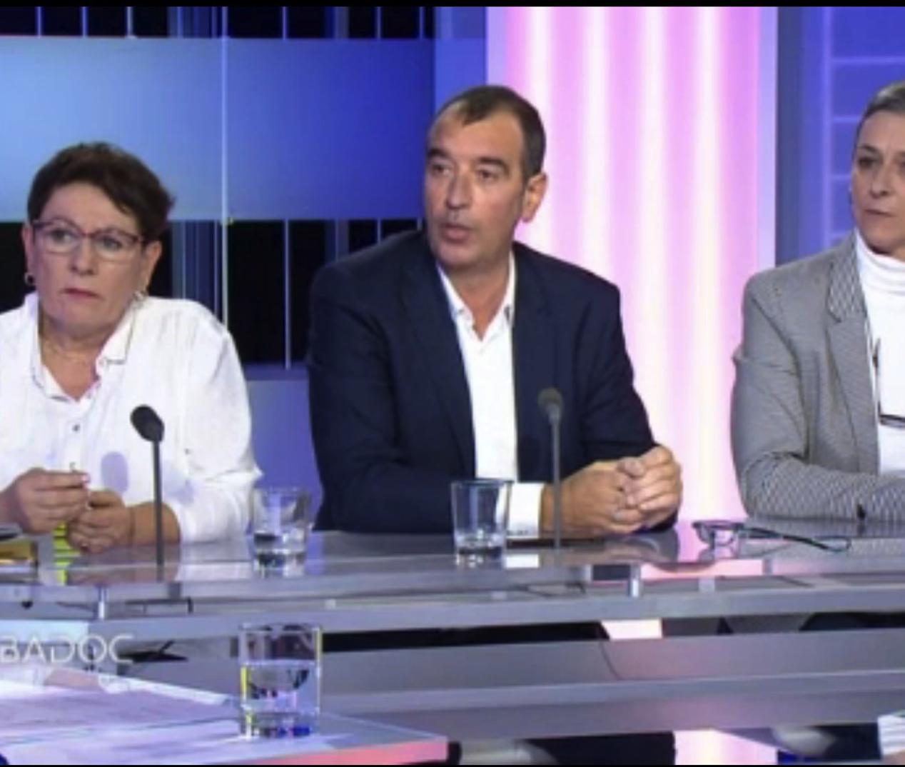 Emission spéciale Gilets Jaunes : le débat sur le plateau de France 3 Bretagne
